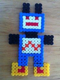 robot blue